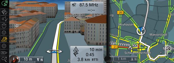 Mapy do navigace
